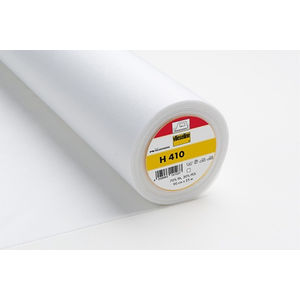 Vlieseline H410 Soft Fusible Interlining, 90cm Wide Per Metre, WHITE