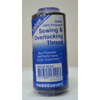 HabeeSavers 2000m Sewing & Overlocking Thread