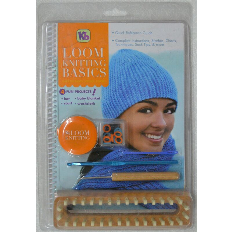 Loom Knitting Basics, Includes Instructions, Tools and Projects