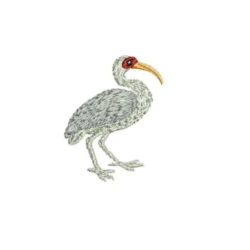 356e77c14f Embroidery Design, Ibis 59 x 46mm, File 1book-ibis1 [Machine Format: ART  (Bernina)]