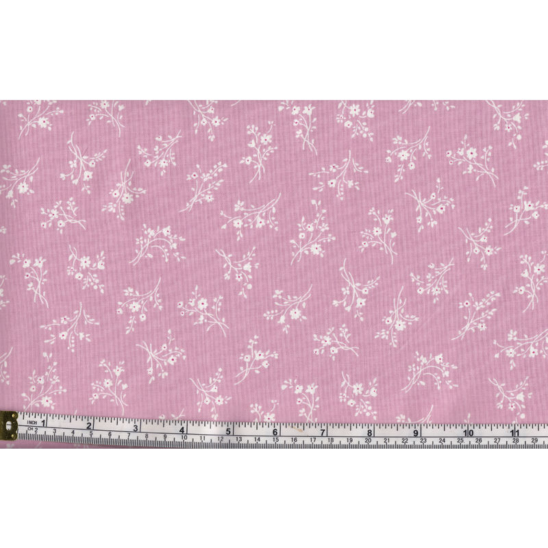 RJR Fabrics #3149-3, Cotton, Afternoon In The Attic, Cameo Blossom, 110cm Wide Per Metre