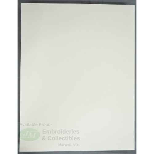 10 Sheets Blotting Paper, 285 x 220mm, 135GSM, Stamp Drying Paper