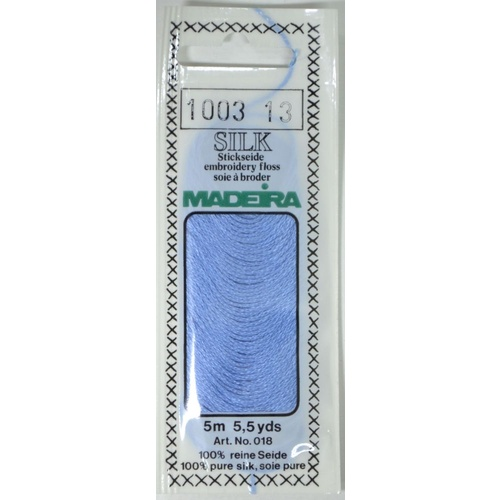 Madeira PURE SILK Colour 1003, 4-Strand Hand Embroidery Thread