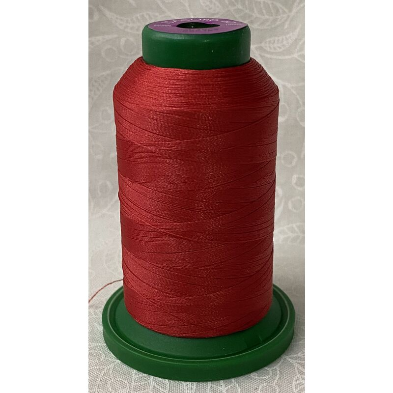 ISACORD 40, Universal Machine Embroidery Thread 1000m Colour 1805 STRAWBERRY RED