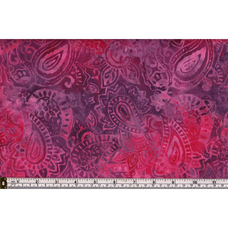Batik Australia TB-1421, Hand Made, Red Jacobean, 110cm Wide Per 50cm