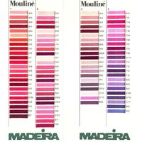 Madeira Mouline Stranded Cotton Thread Chart main image