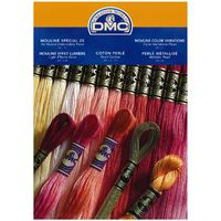 DMC Stranded Cotton Embroidery Thread Colour Chart main image